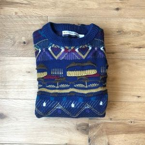 Other - Vintage Coogi inspired sweater